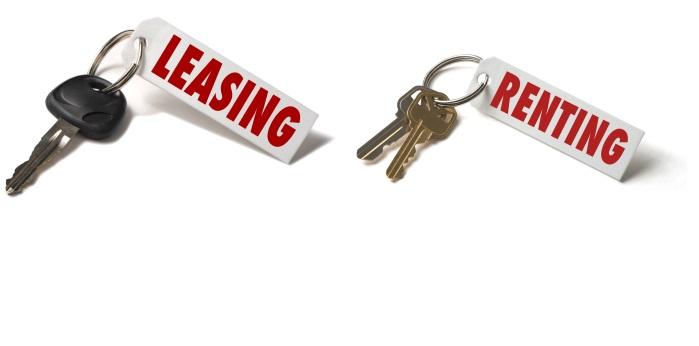 Renting y leasing, dos formas de financiación para distintas ocasiones