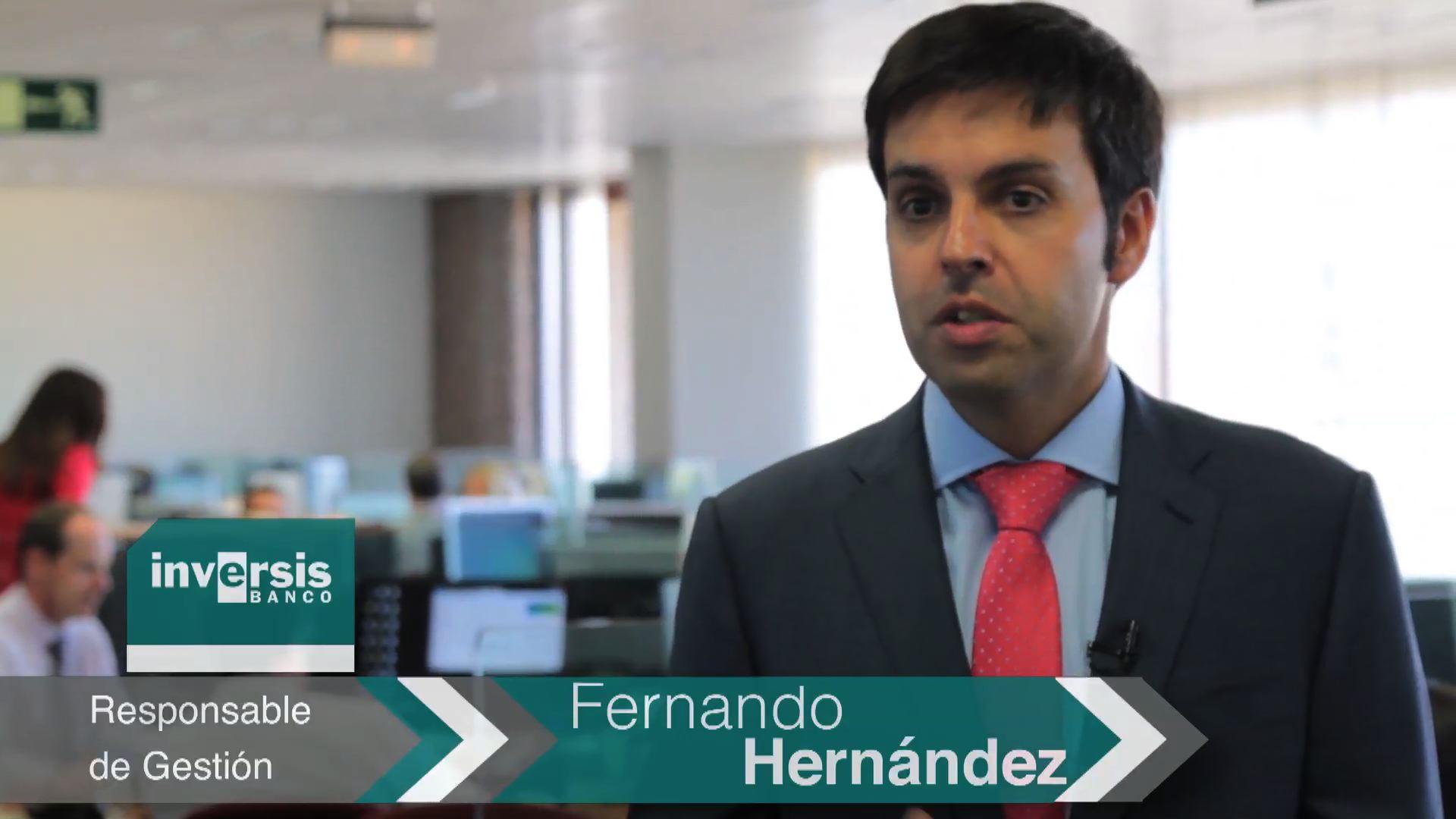 """Fernando Hernández: """"Un más 10-12% en renta variable europea para el conjunto del año es perfectamente alcanzable"""""""