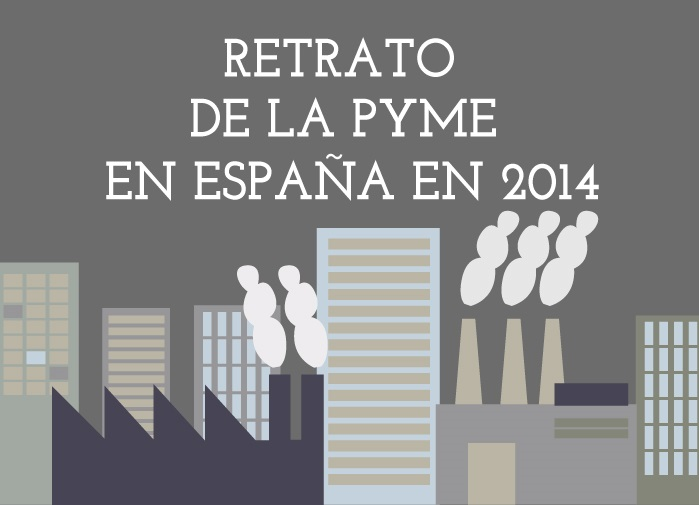 Infografía: Retrato de la Pyme en España en 2014