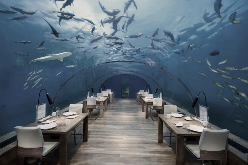 Restaurantes exclusivos donde la comida es lo de menos