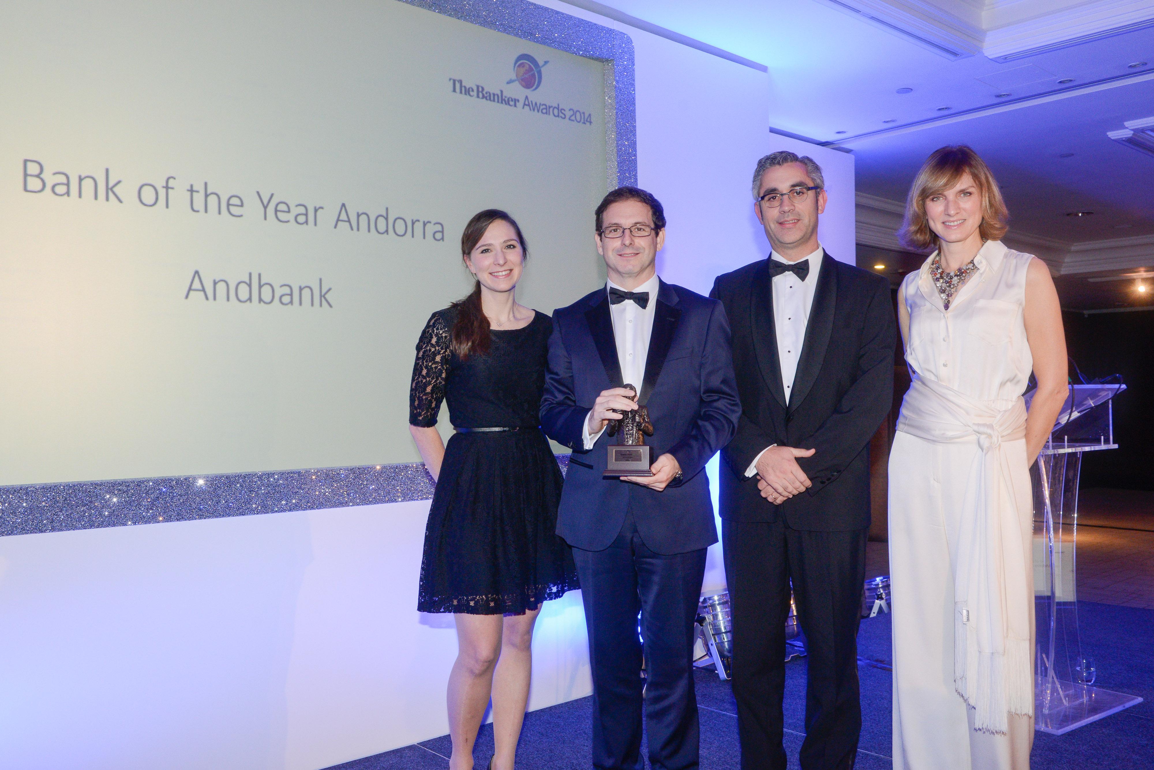 Andbank gana el premio al mejor banco de Andorra por The Banker