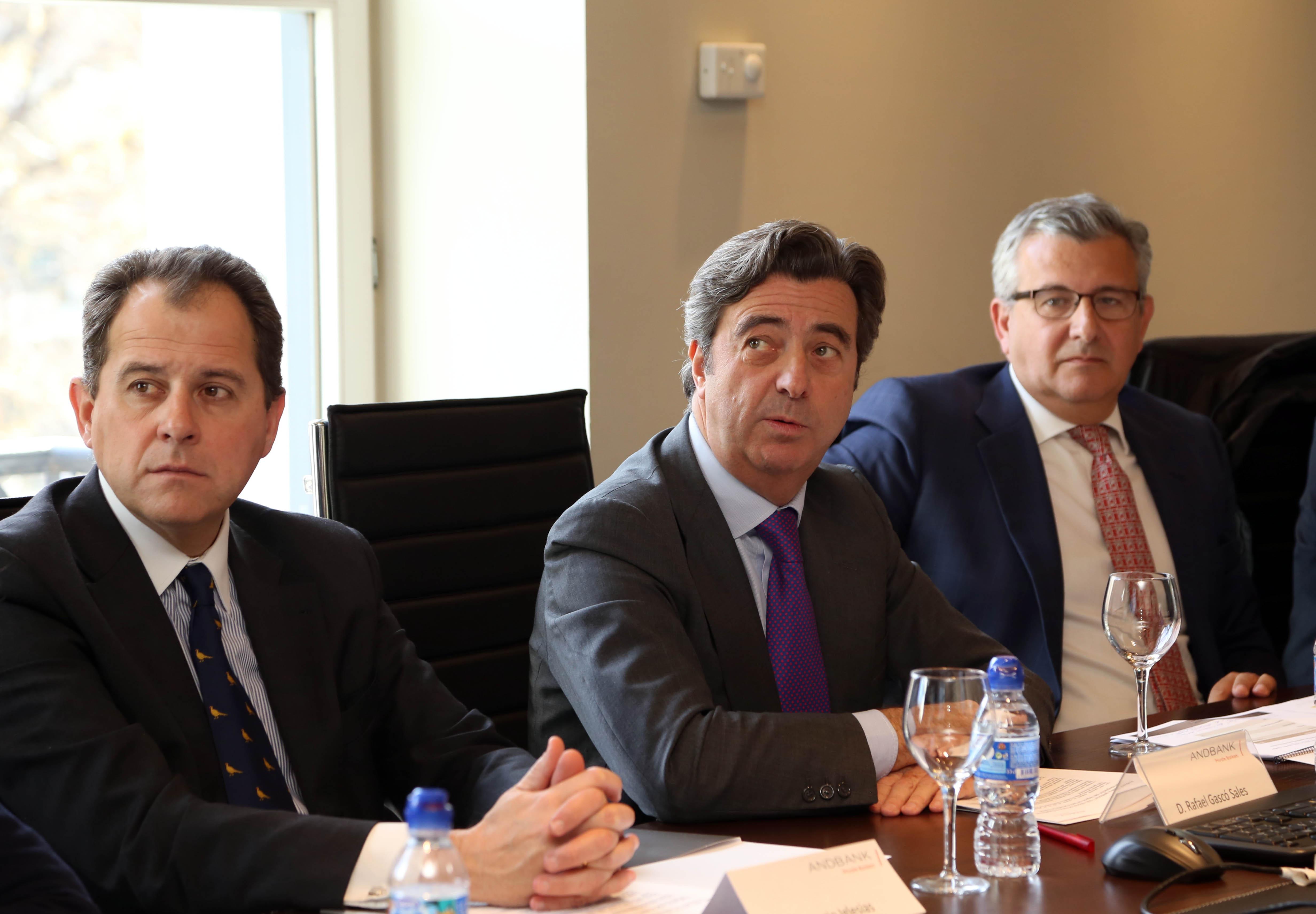 Andbank nombra a Carlos Moreno de Tejada, director general de Negocio, y a Ignacio Iglesias, director general de Control y Riesgos