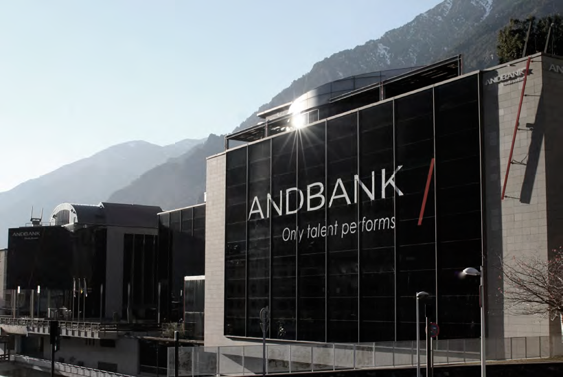 Fitch ratifica el rating de Andbank en A-