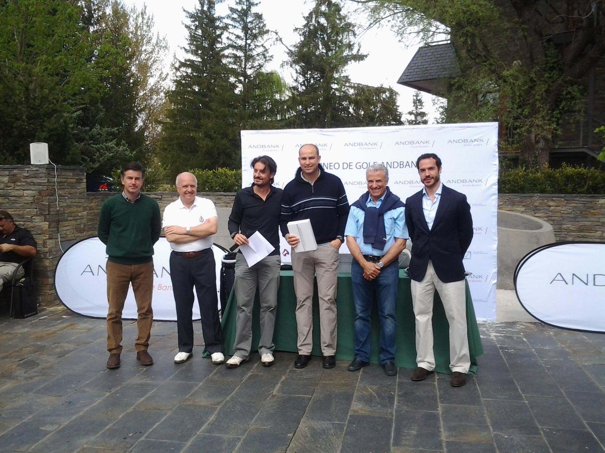 El Torneo de Golf Andbank reúne a más de 80 jugadores en Girona