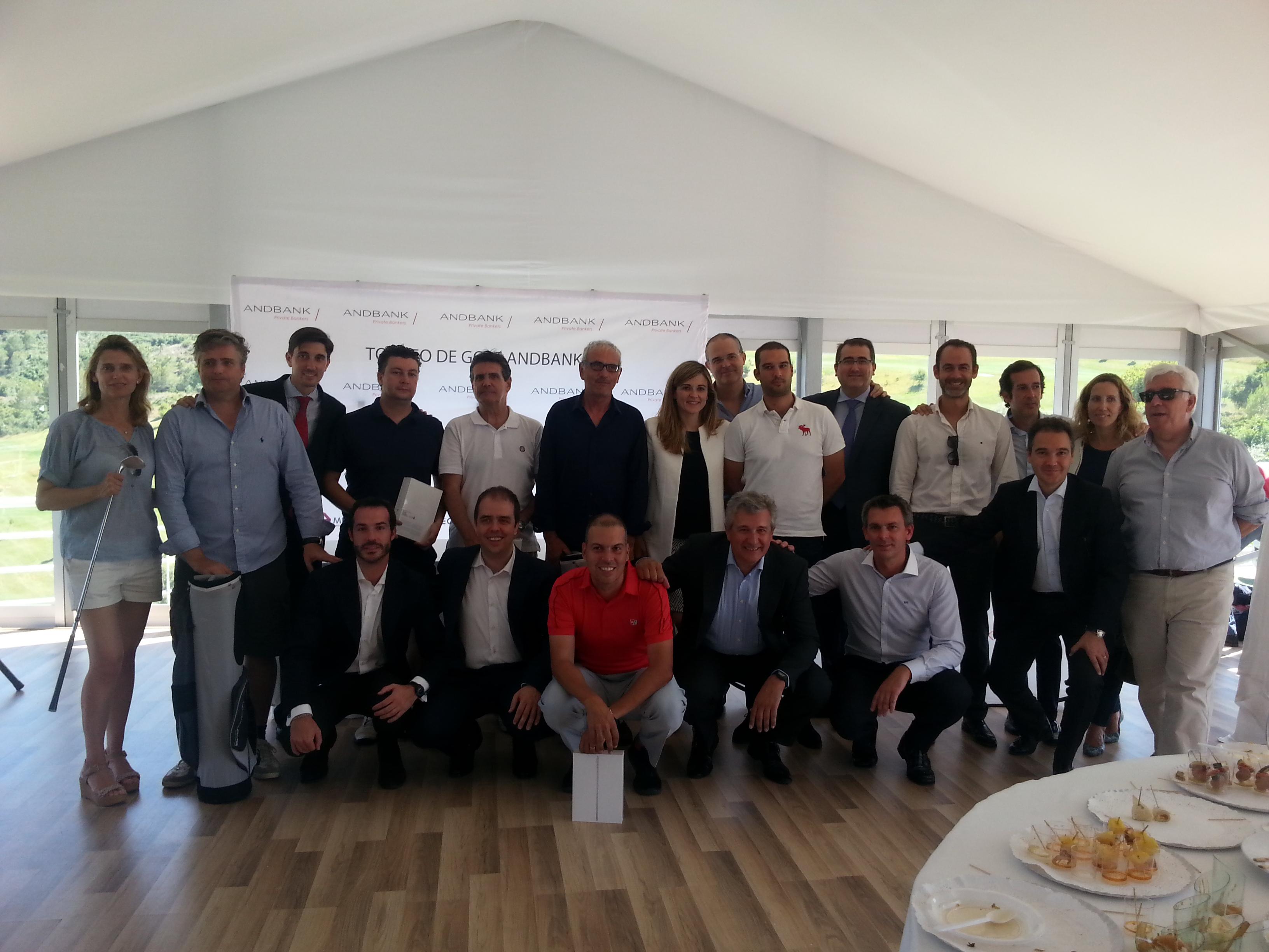 El Torneo de Golf Andbank reúne a cerca de 70 jugadores en Valencia