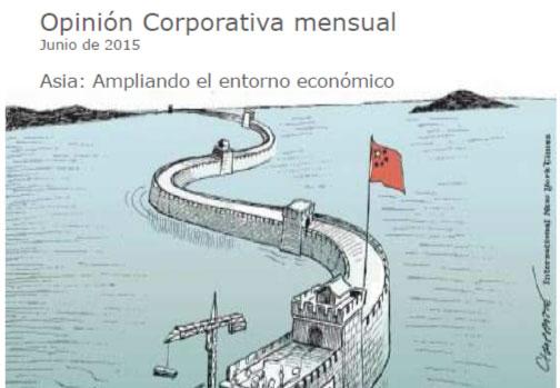 Opinión corporativa junio 2015: perspectivas de la economía y de los mercados financieros