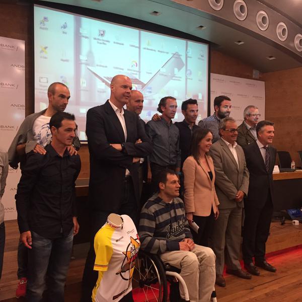 Presentación La Purito Andorra 2015 Gran Premio Andbank