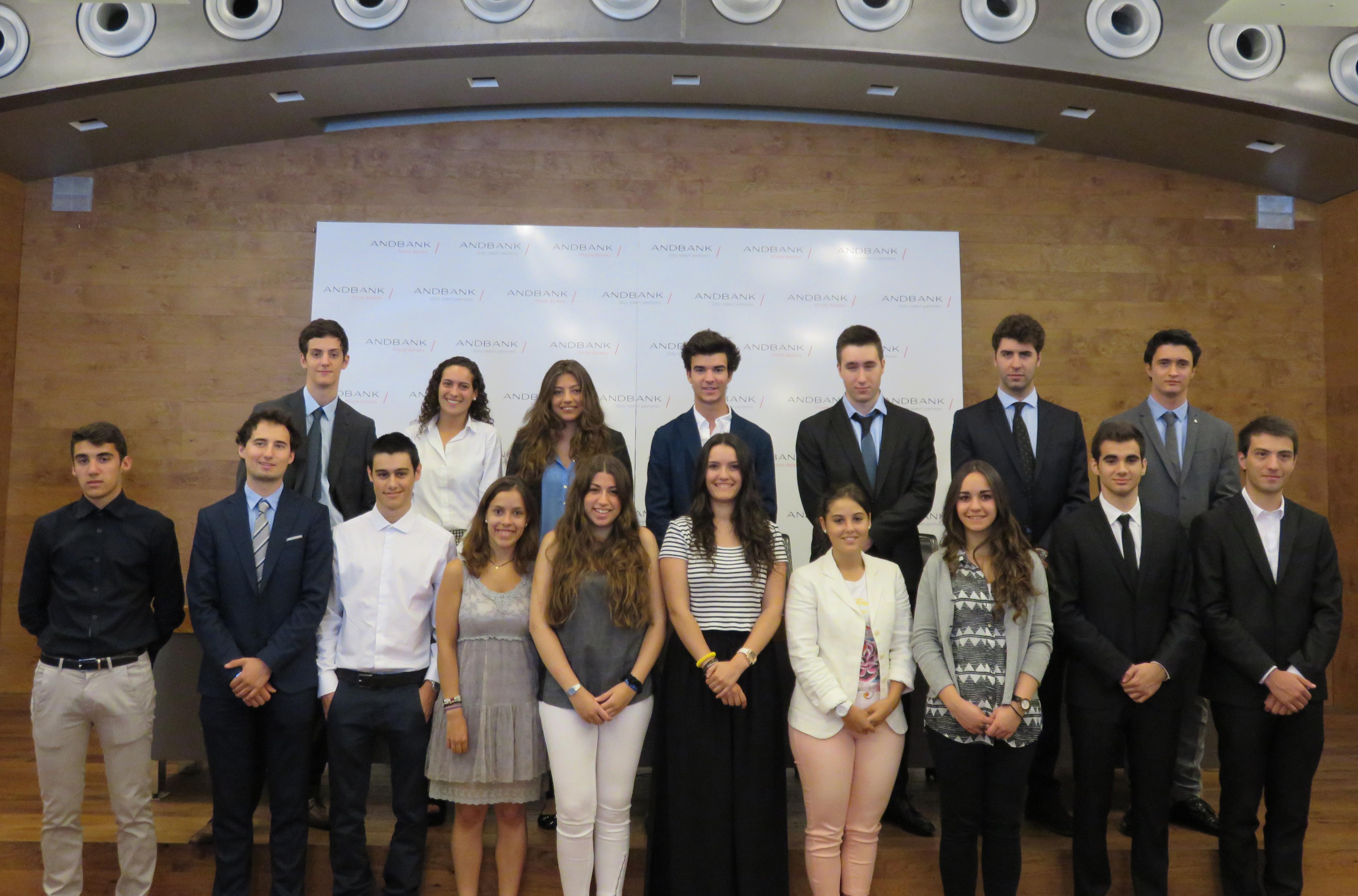 Andbank acoge a 20 estudiantes del programa Andbank Trainee Program