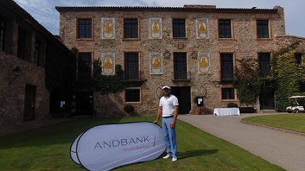 El Torneo de Golf Andbank reúne a más de 80 jugadores en Barcelona