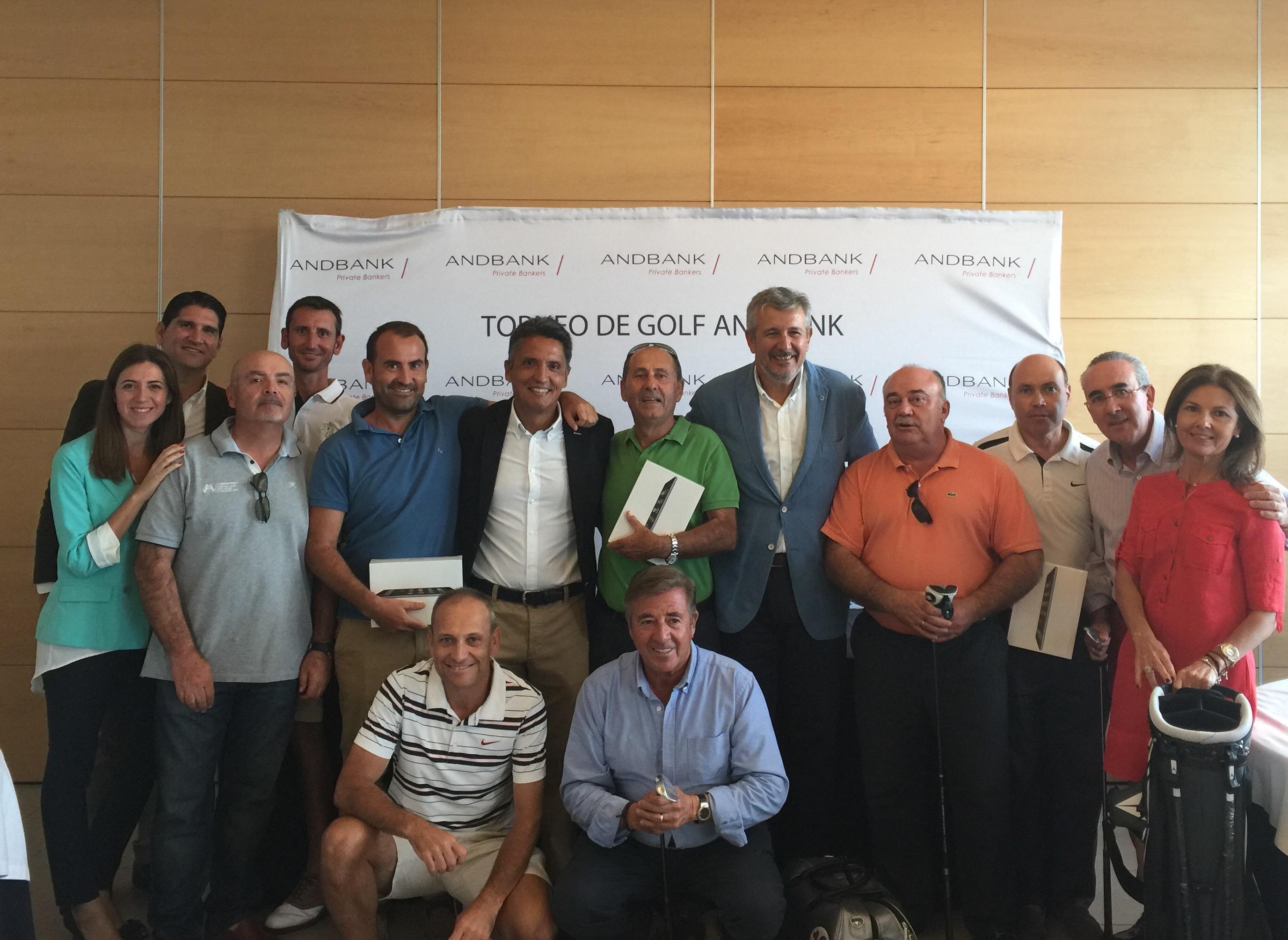 La última prueba del Torneo de Golf Andbank 2015 reúne a 50 jugadores en Alicante