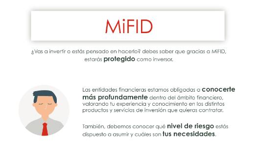 Infografía: Qué supone la MiFID para inversores y entidades de inversión