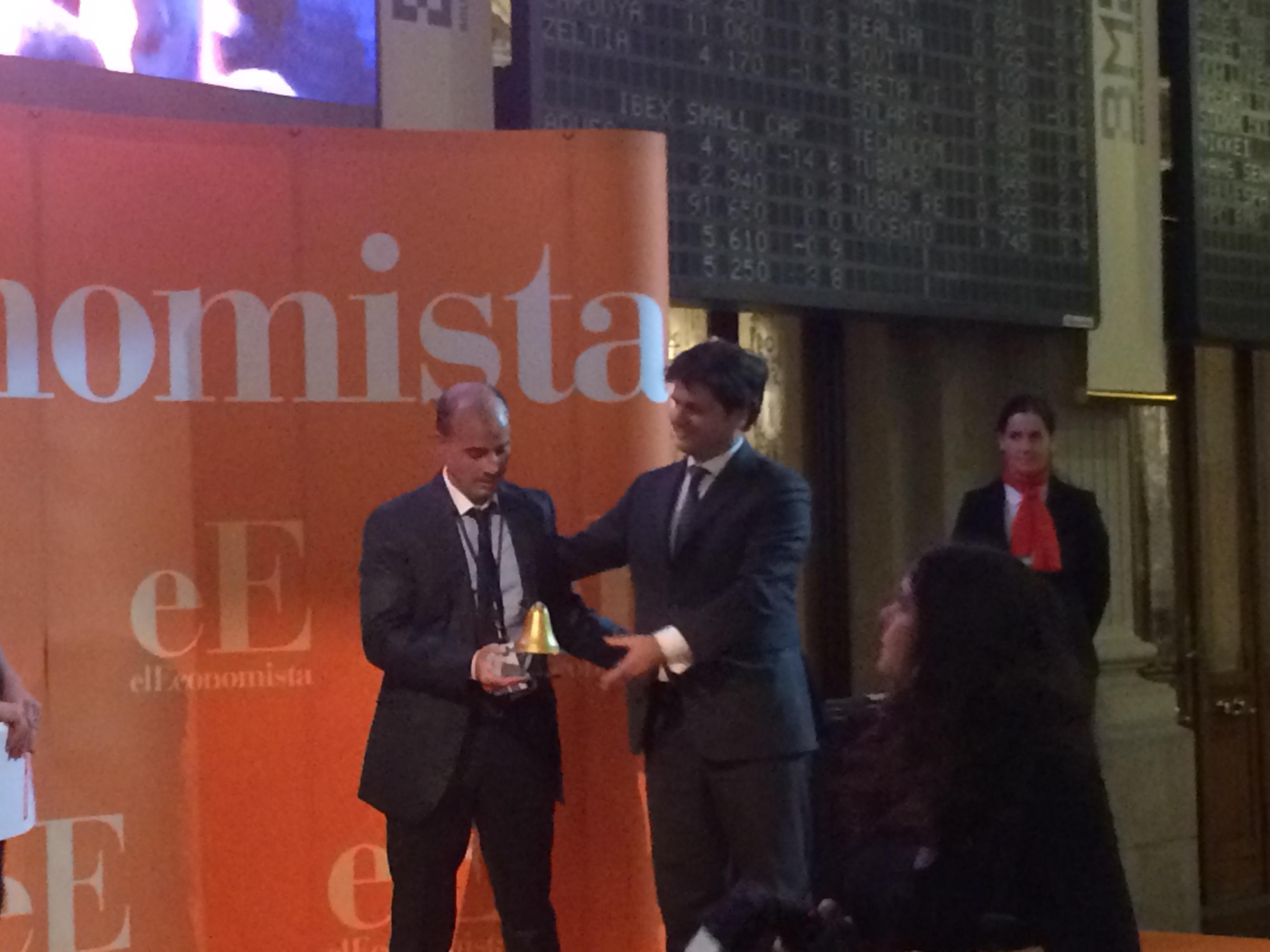 Andbank recibe el premio de 'El Economista' a la mejor cartera de inversión 2014