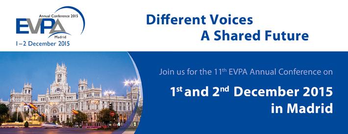 La Conferencia EVPA pone rumbo a España, persigue acelerar un cambio positivo en la sociedad
