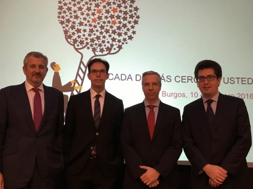 Andbank inaugura nueva oficina en Burgos