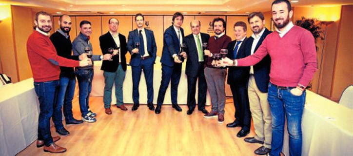 Socios de los mejores vinos de Rioja