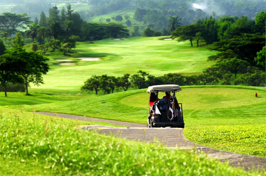 Arrancamos el circuito de golf Andbank con un hoyo muy especial