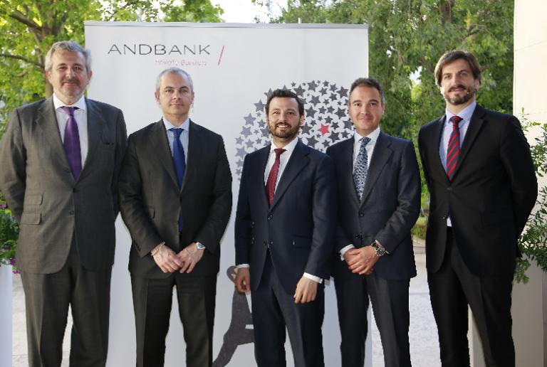 Andbank analiza en Valencia las mejores estrategias de inversión con Fidelity y JP Morgan