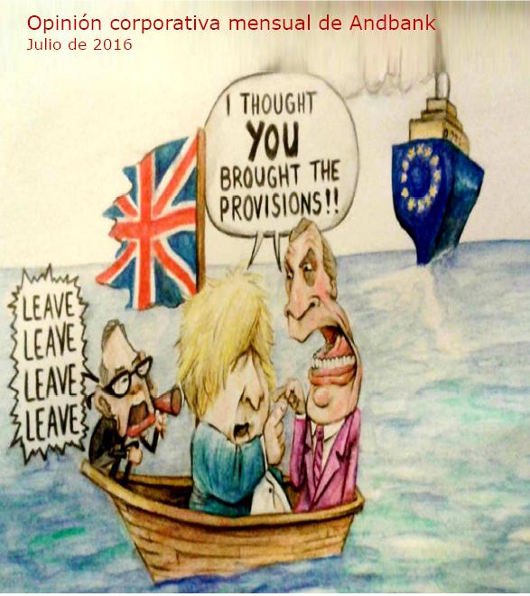"""El Brexit no tiene por qué ser necesariamente un """"momento Lehman"""" – Opinión corporativa julio 2016"""
