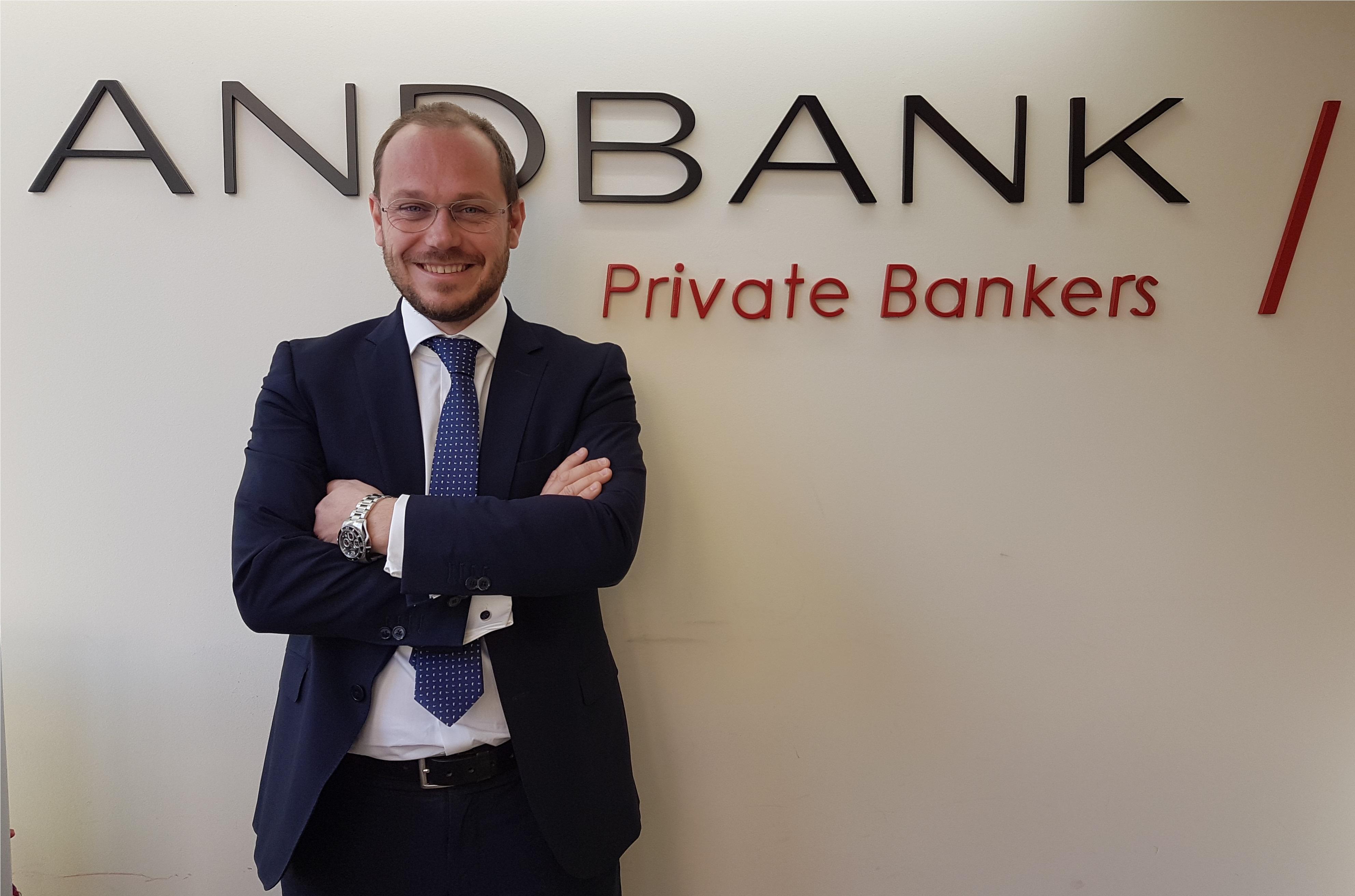 Andbank España refuerza su equipo en Cataluña con la incorporación de Roger Cornet como banquero privado