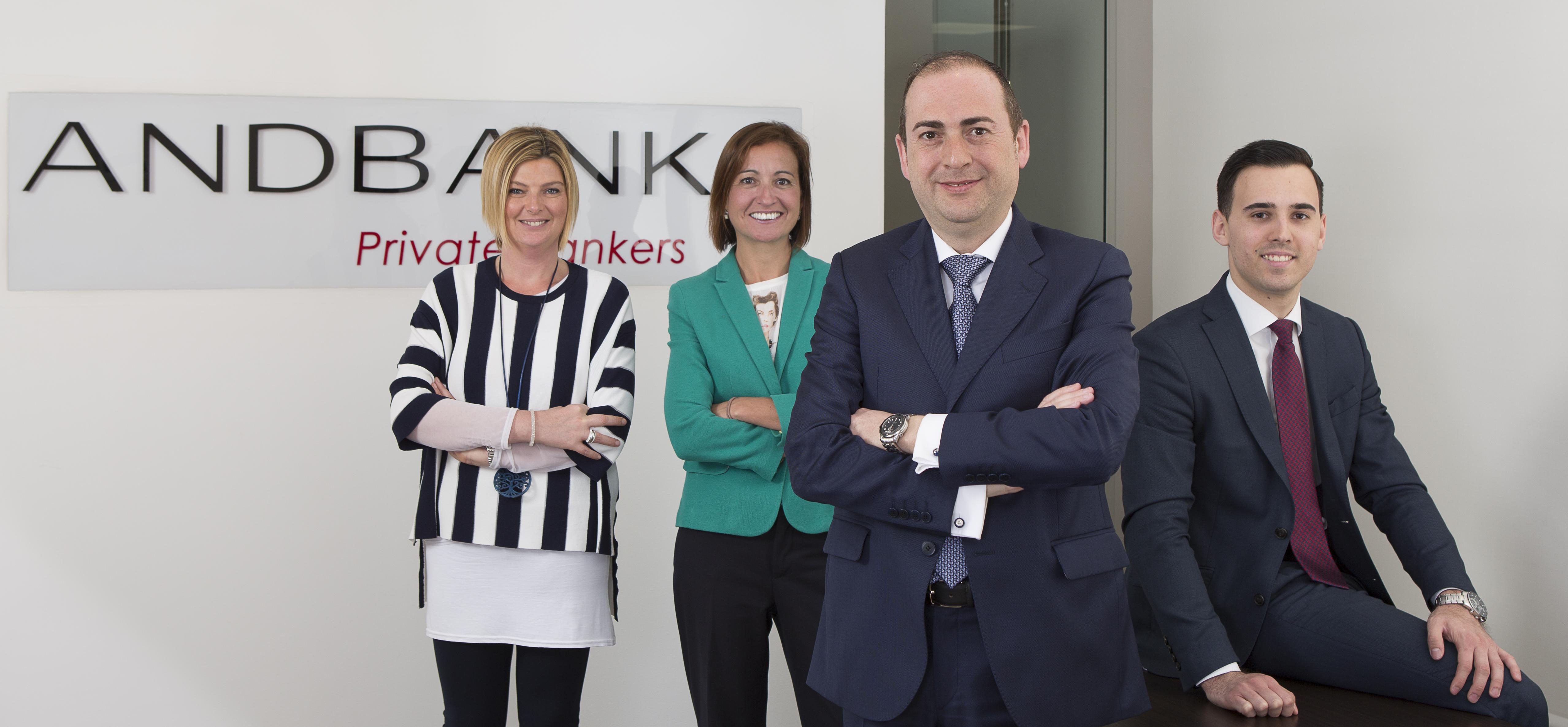 Andbank refuerza su equipo en Alicante con dos nuevos banqueros privados
