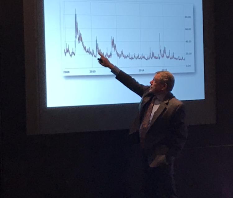 """Dan Galai, creador del índice VIX de volatilidad: """"Es una herramienta arriesgada, que registra cambios abruptos"""""""