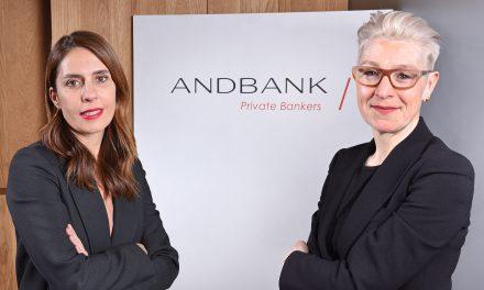 Andbank incorpora dos directivas de reconocido prestigio internacional