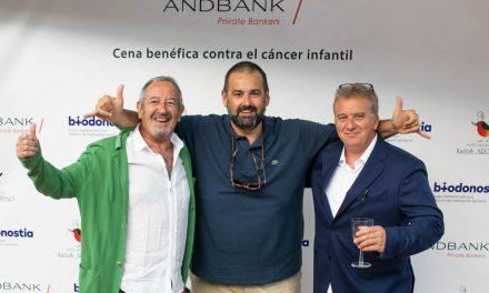 Andbank recauda en San Sebastián más de 40.000 euros para la lucha contra el cáncer infantil