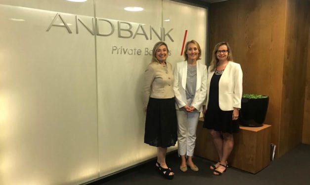 """Desayunos Andbank Mujeres: """"La inversión sostenible refleja un mundo en cambio"""""""