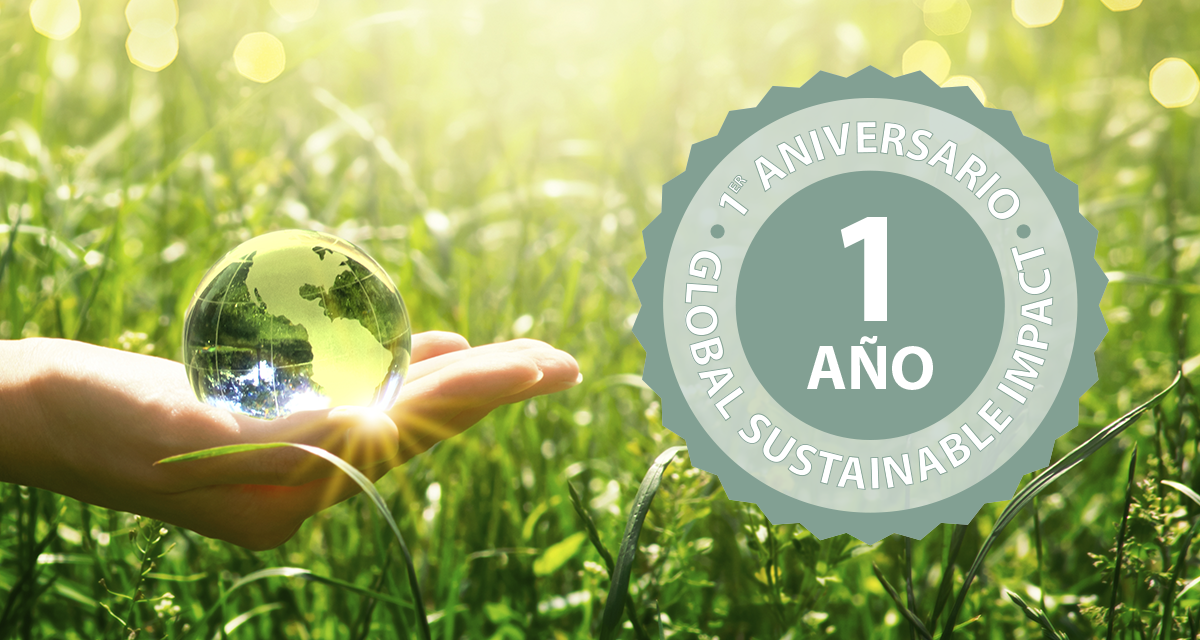 Primer aniversario del Global Sustainable Impact, cumpliendo objetivos