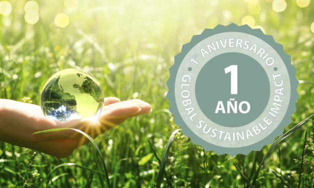Primer aniversario del Global Sustainable Impact, cumpliendo objetivos